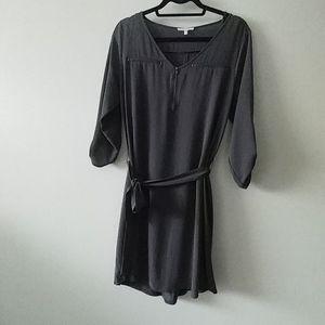 Grey 3/4 sleeve dress size M